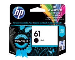 HP 61 Black Original Ink Cartridge CH561WA